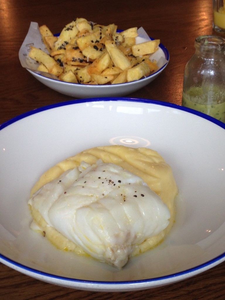 The Fish & Chips Shop - London Food Blog - Cod with mash