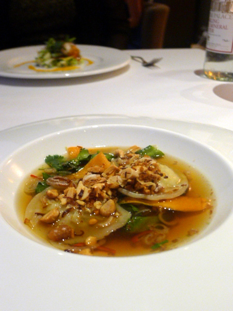 The New Angel – London Food Blog – Crab wontons