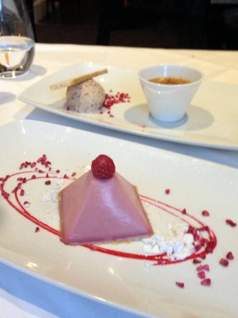 Bistro 51 at The St James Court Hotel – London Food Blog - Cheesecake