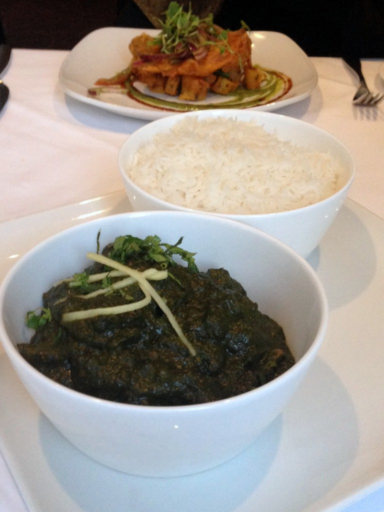 Bistro 51 at The St James Court Hotel – London Food Blog - Palak gosht