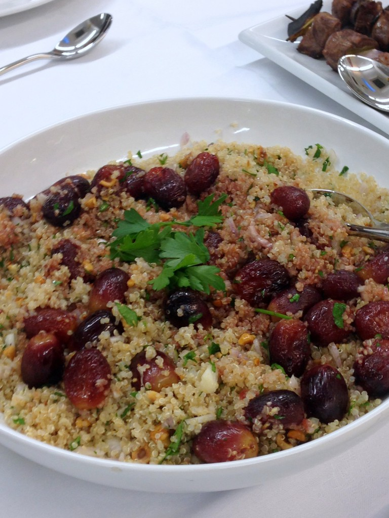 Nutrition in Practice at Leiths - London Food Blog - Quinoa salad