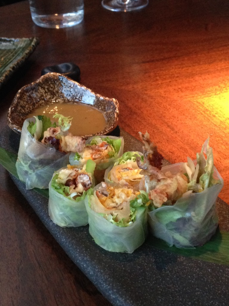 Koji - London Food Blog - Summer roll