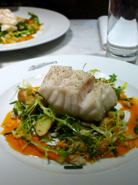 Randall & Aubin – London Food Blog – Cod with shrimp cream