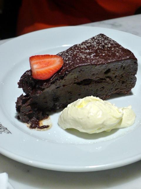 Randall & Aubin – London Food Blog – Sacher torte