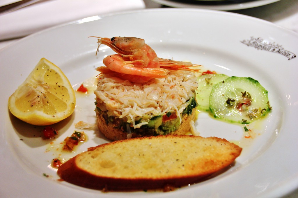 Randall & Aubin – London Food Blog - Devon crab