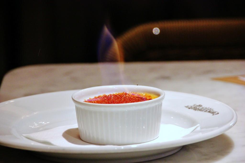 Randall & Aubin – London Food Blog – Crème brûlée