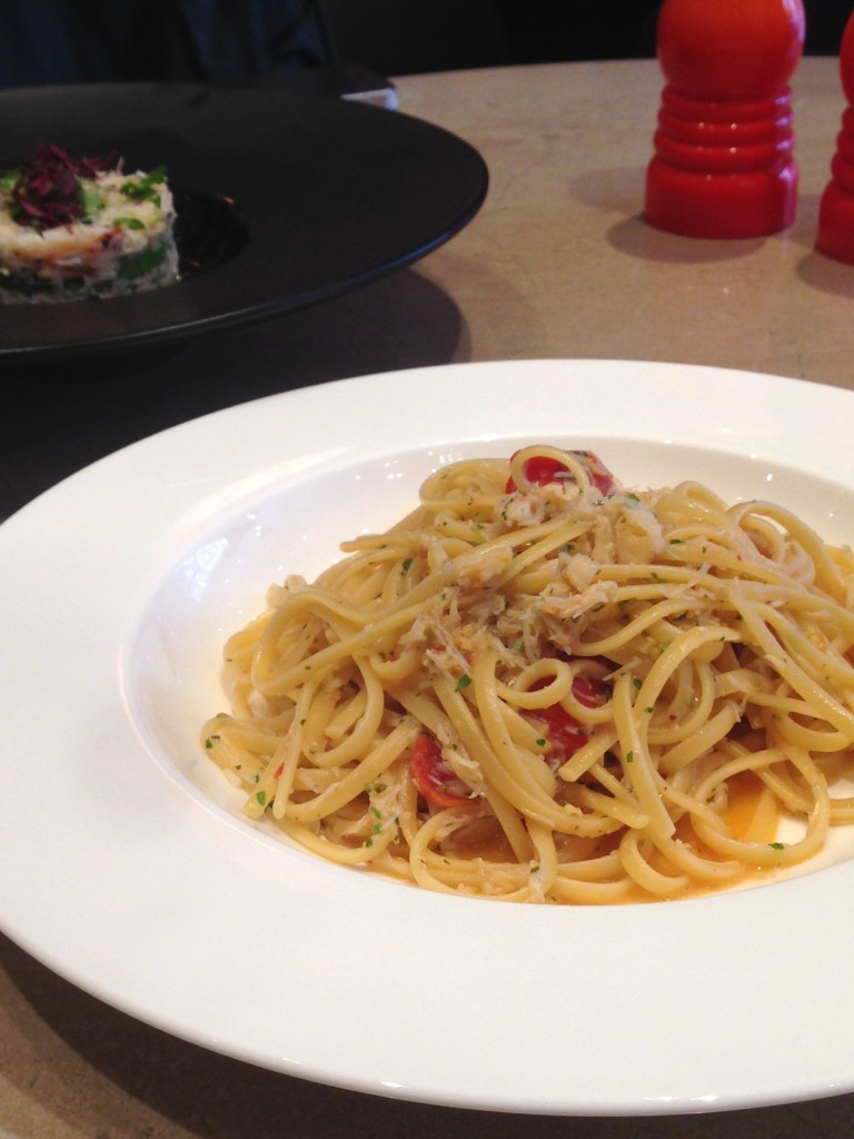 L'Eto - London Food Blog - Crab linguine