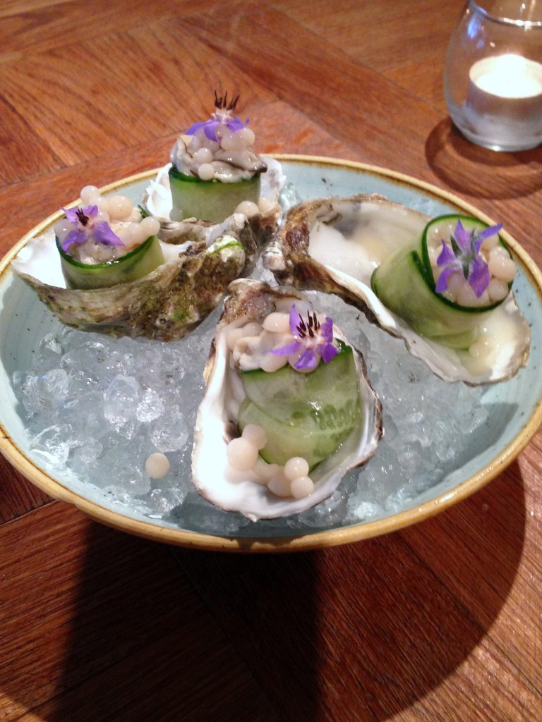 Iberica – London Food Blog - Oysters by Mani