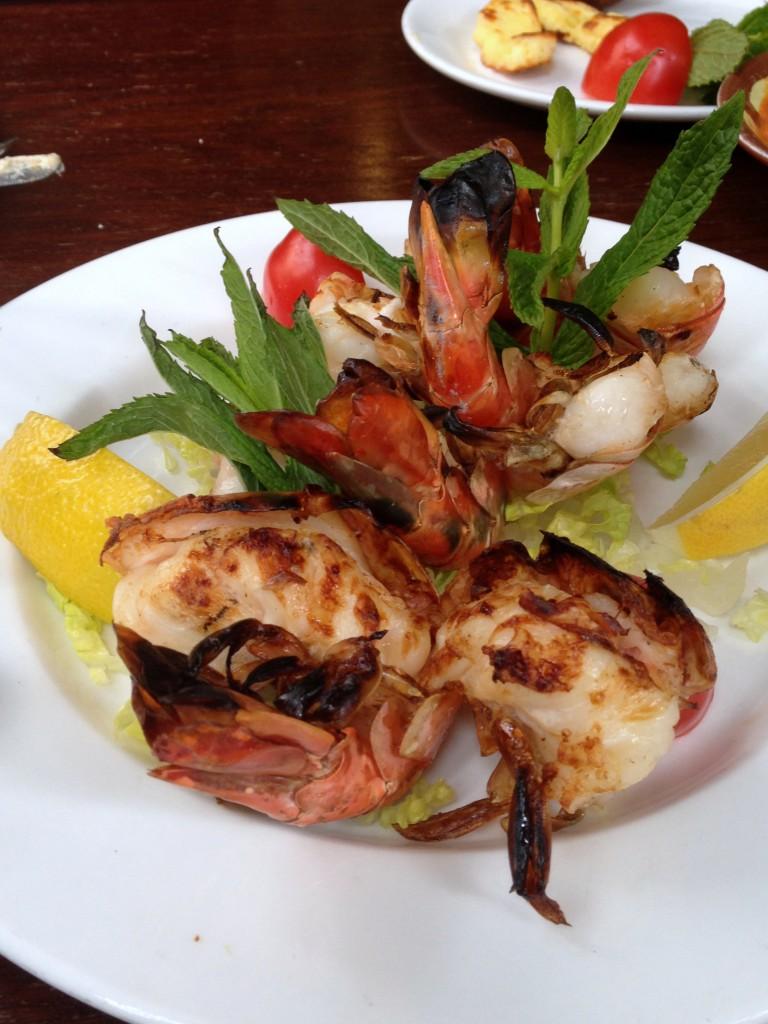 Randa - London Food Blog - Jumbo prawns