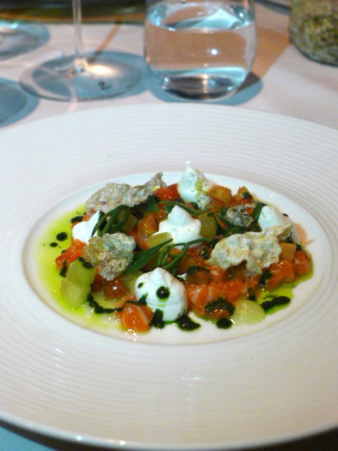 The Chancery - London Food Blog - Trout tartare