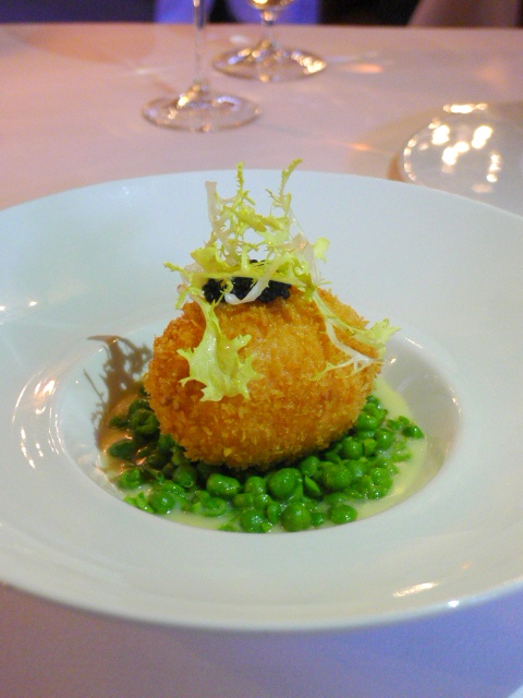 The Swan at Lavenham - London Food Blog - Smoked salmon Scotch egg