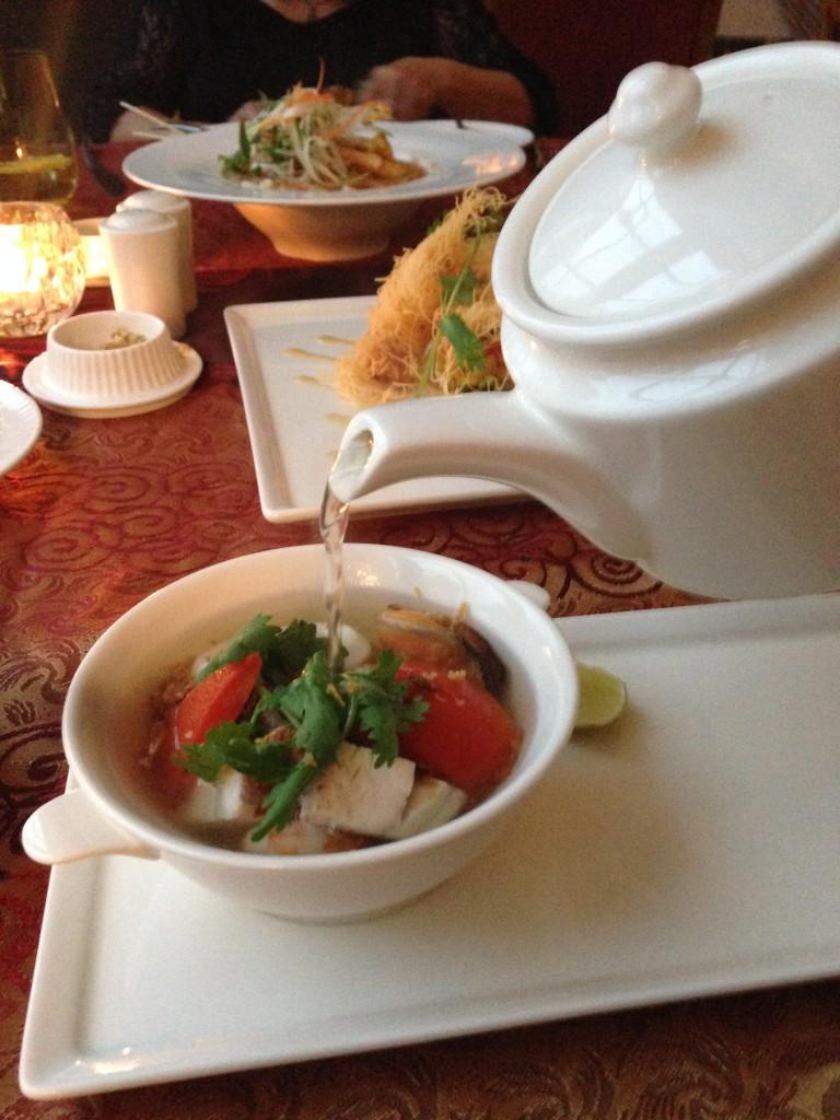 Danna Langkawi - London Food Blog - Thai seafood broth