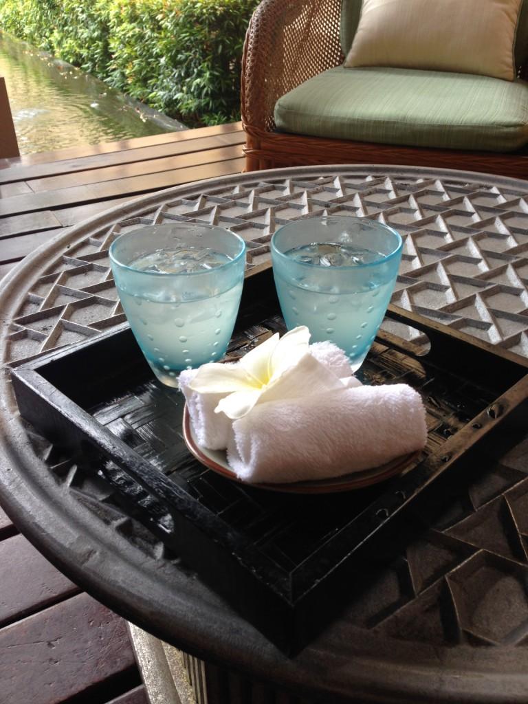 Four Seasons Langkawi - London Food Blog - Welcome drink