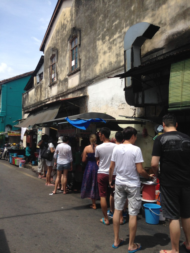 Penang Road Famous Cendol - London Food Blog - The queues