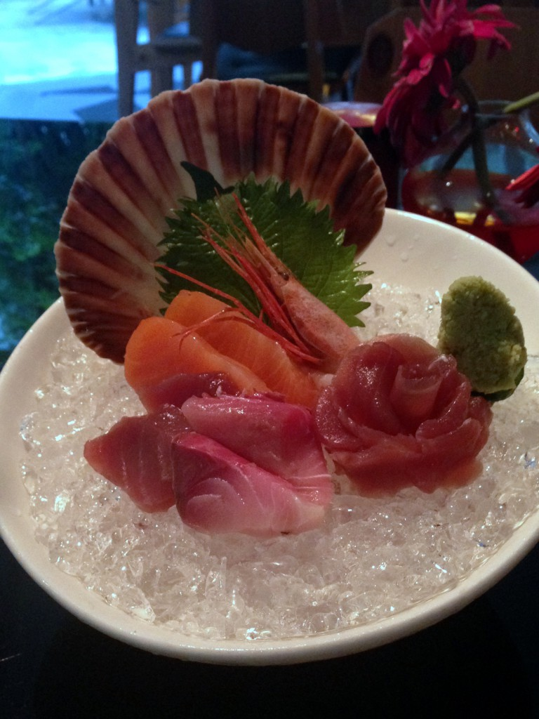 Lone Pine - London Food Blog - Sashimi selection