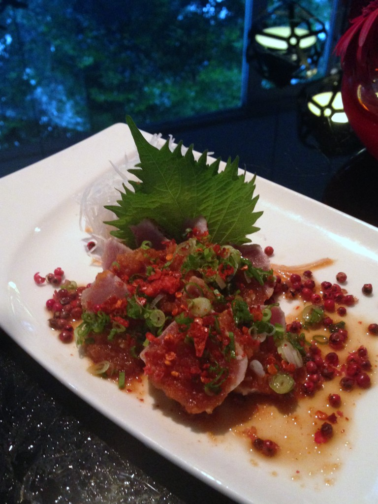 Lone Pine - London Food Blog - Tuna tataki