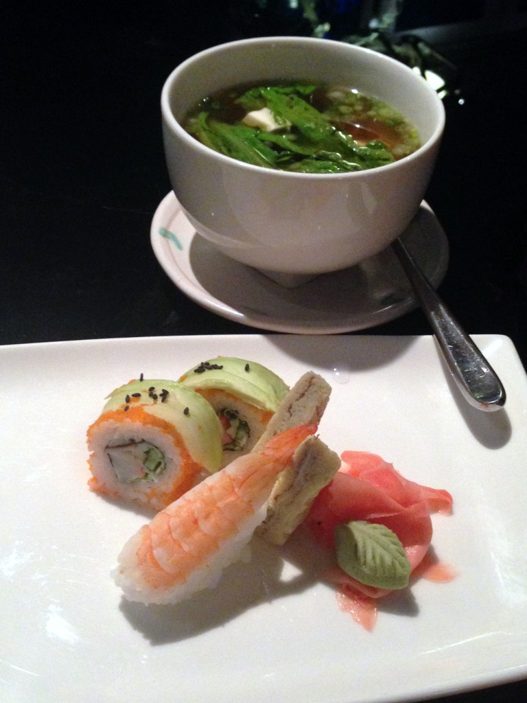 Lone Pine - London Food Blog - Sushi & soup
