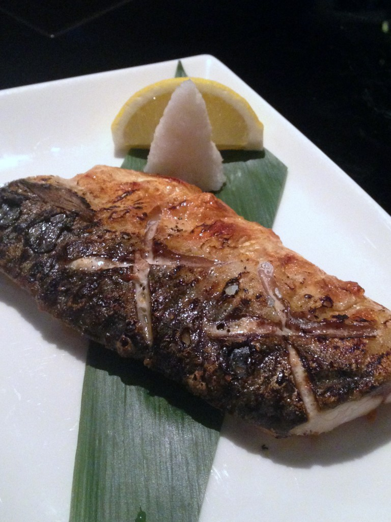 Lone Pine - London Food Blog - Grilled mackerel