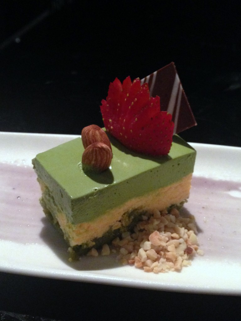 Lone Pine - London Food Blog - Green tea tiramisu