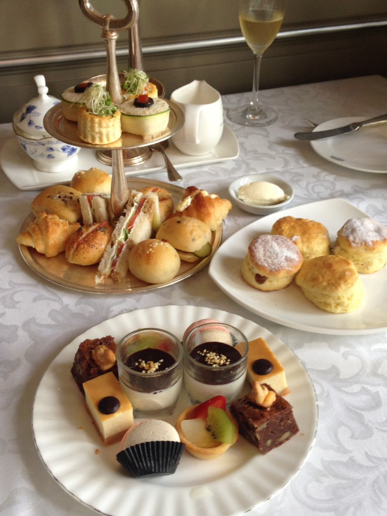 Eastern & Oriental Hotel - London Food Blog - Afternoon tea