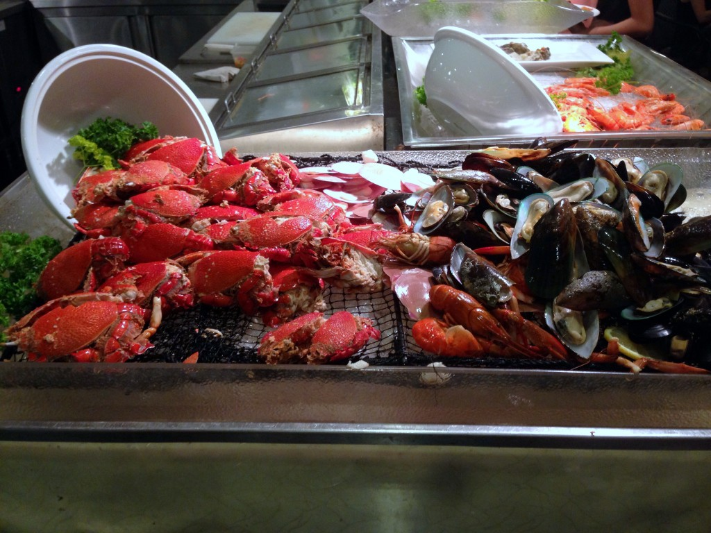 Eastern & Oriental Hotel - London Food Blog - Seafood at the buffet