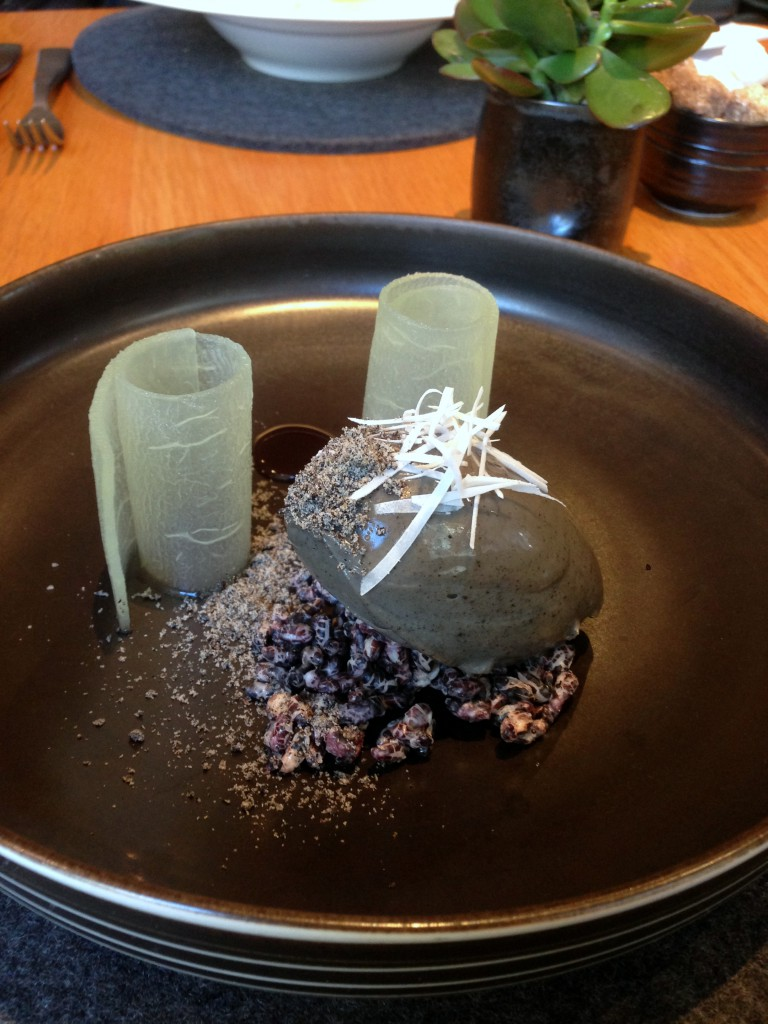 The Bridge Room - London Food Blog - Whipped black sesame