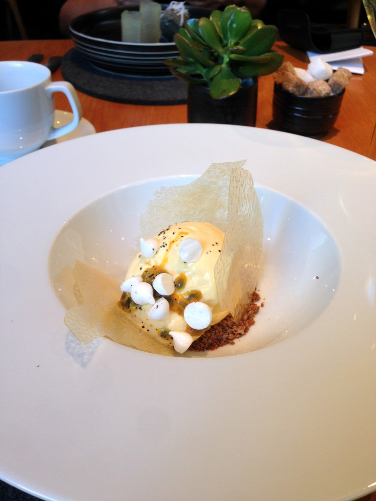 The Bridge Room - London Food Blog - Aerated assionfruit