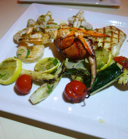 Mezzaluna Emirates Palace - London Food Blog - Seafood grill