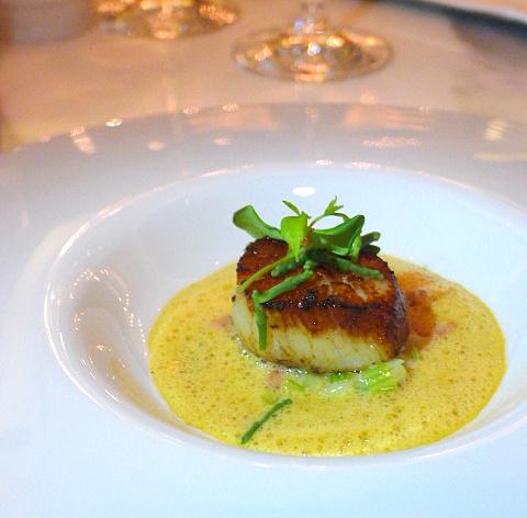 Jumeirah at Etihad Towers - London Food Blog - Hokkaido scallop
