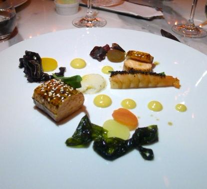 Jumeirah at Etihad Towers - London Food Blog - Seared salmon
