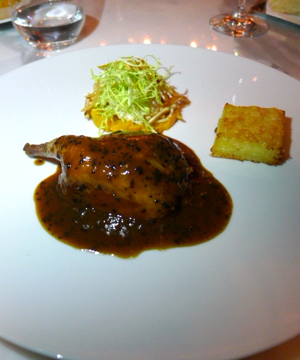 Jumeirah at Etihad Towers  - London Food Blog - Whole roasted pigeon