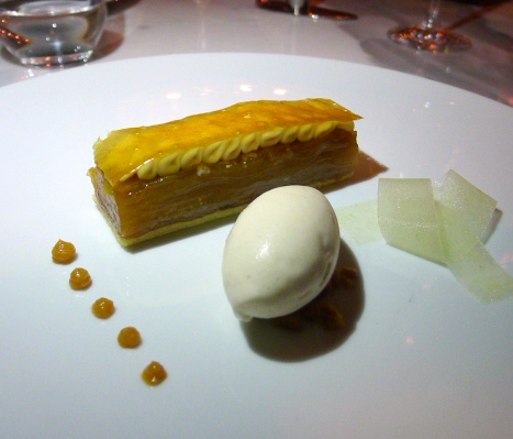Jumeirah at Etihad Towers - London Food Blog - Apple millefeuille