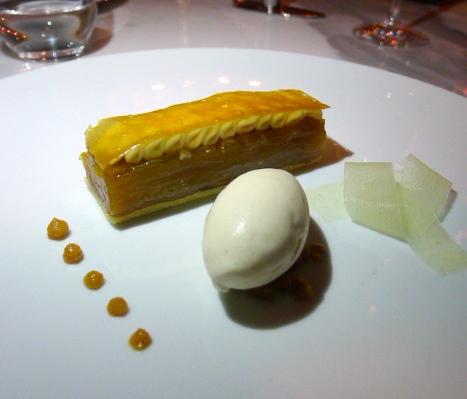 Jumeirah at Etihad Towers - London Food Blog - Apple millefeuille