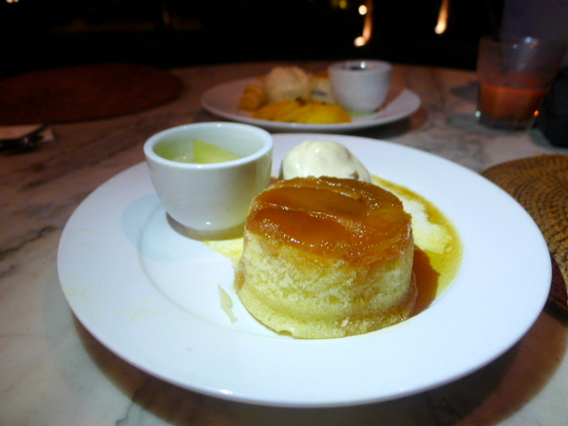 Nam, Bon Ton Resort - London Food Blog - Steamed pudding