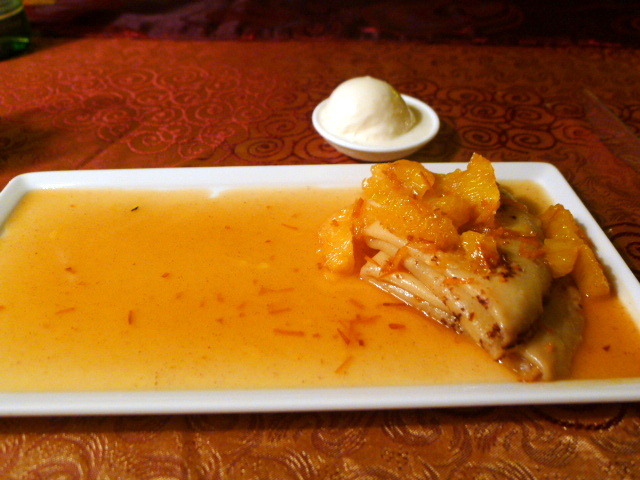 Danna Langkawi - London Food Blog - Crepe suzette