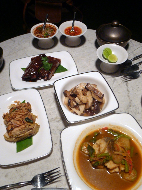 The Siam Hotel - London Food Blog - The mains