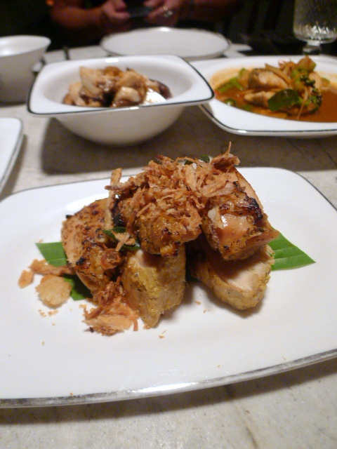 The Siam Hotel – London Food Blog -  Chargrilled chicken