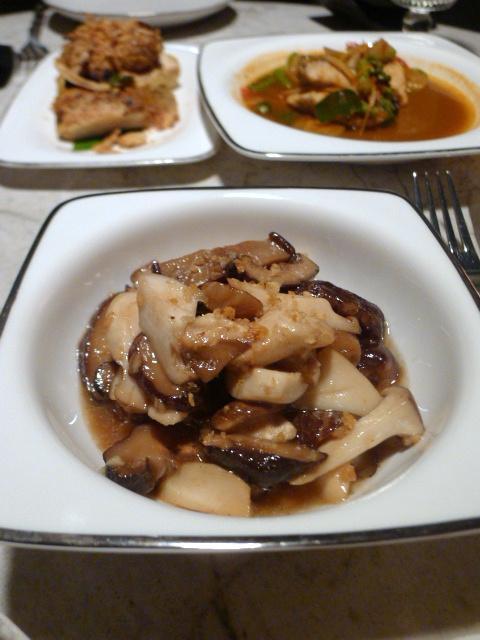 The Siam Hotel – London Food Blog - Mushrooms & oyster sauce