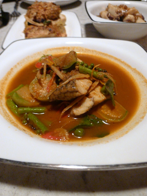 The Siam Hotel – London Food Blog – Curry sea bass