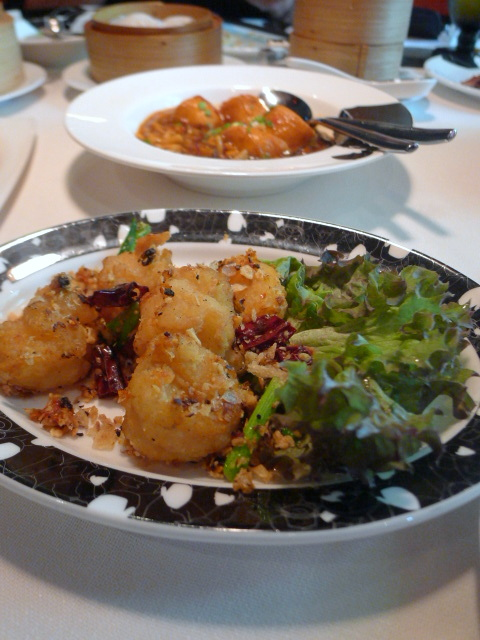 Mandarin Oriental Bangkok - London Food Blog - Prawns with garlic