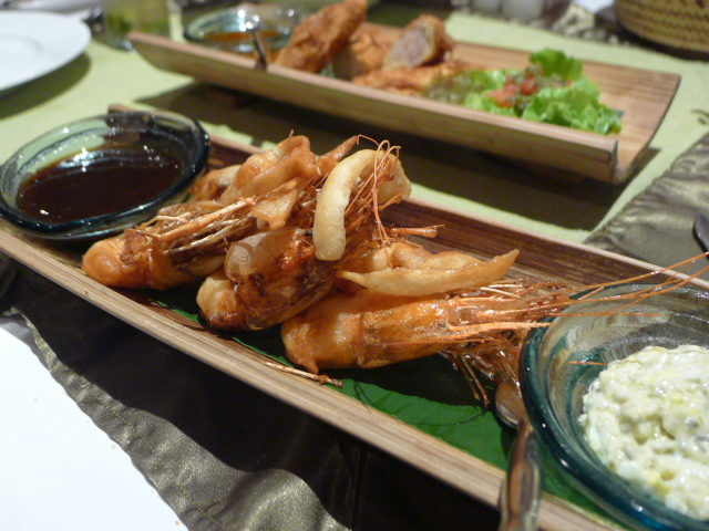 La Résidence Phou Vao - London Food Blog - Lao beer battered prawns