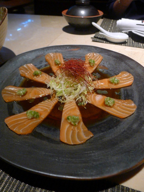 JW Marriot Bangkok – London Food Blog - Salmon carpaccio