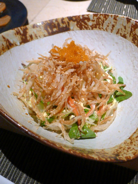 JW Marriot Bangkok – London Food Blog - Shirauo salad