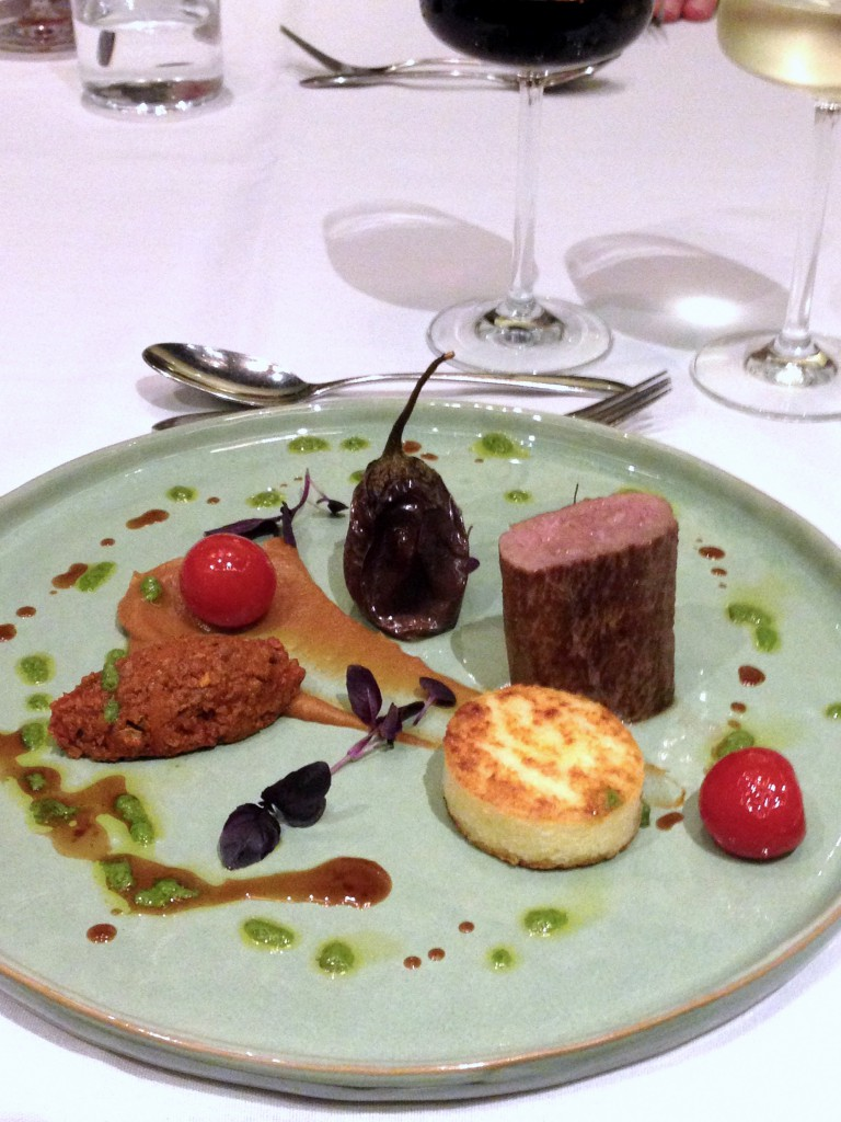St James Court Hotel - London Food Blog - Lamb dish at Kona