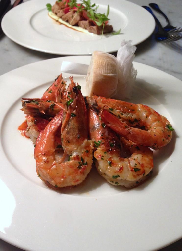 108 Brasserie - London Food Blog - Tiger prawns