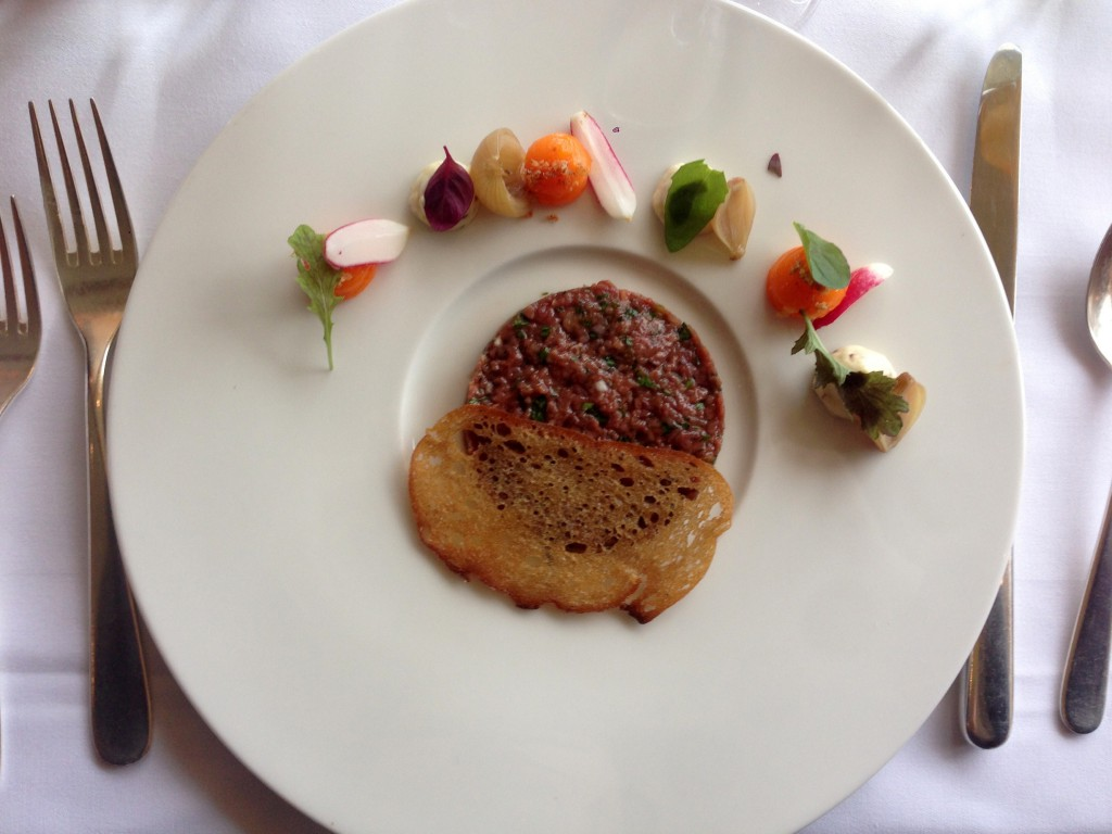 Galvin at Windows - London Food Blog - Beef Tartare