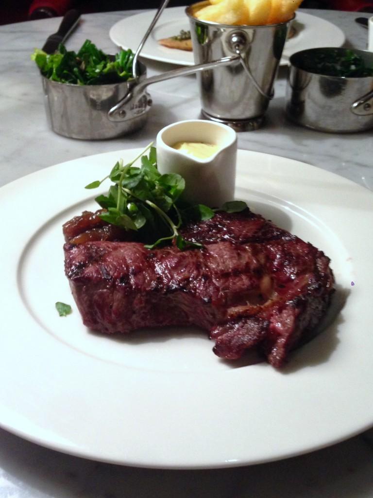 108 Brasserie - London Food Blog - Rib-eye