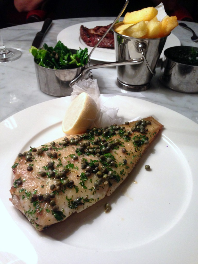 108 Brasserie - London Food Blog - Lemon sole