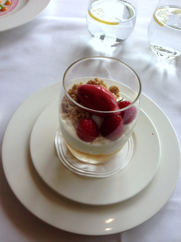 Galvin at Windows - London Food Blog - Rice pudding