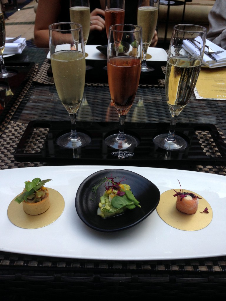 St James Court Hotel - London Food Blog - Canapes